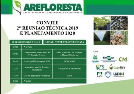 REUNIÃO INTERNA: 2° REUNIÃO TÉCNICA 2019 E PLANEJAMENTO 2020