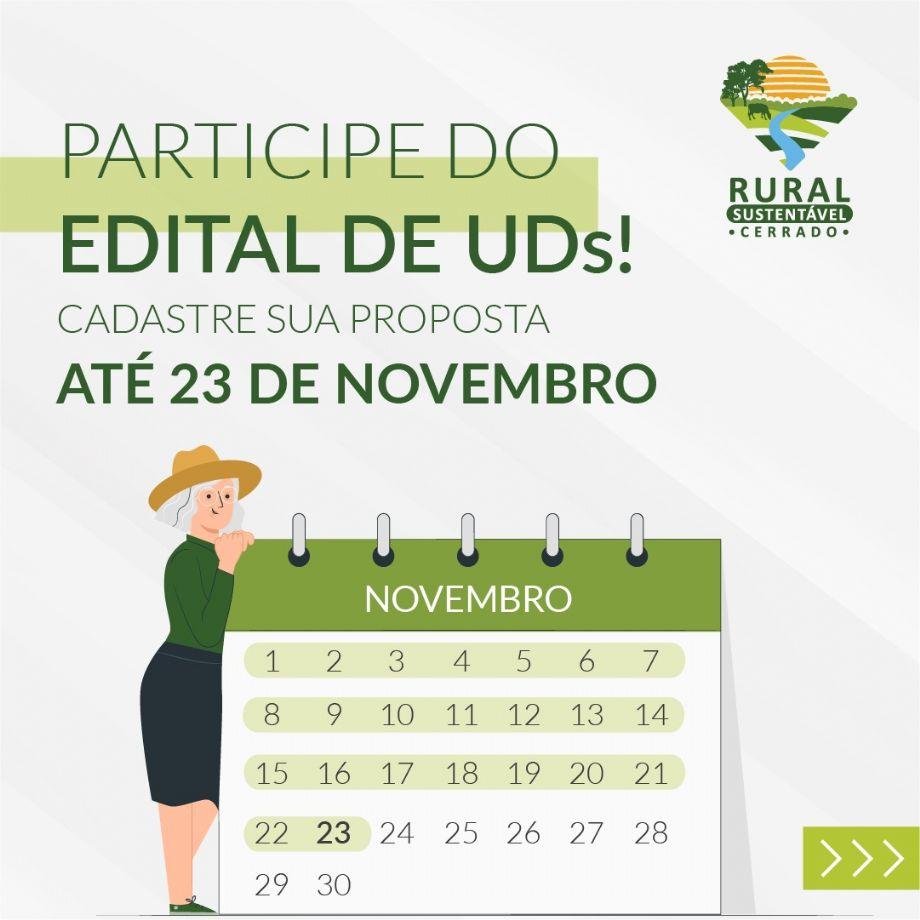 Participe do edital para se tornar uma Unidade Demonstrativa (UD) no PRS - Cerrado